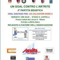 Un Goal Contro L'Artrite - ARG-Italia ONLUS