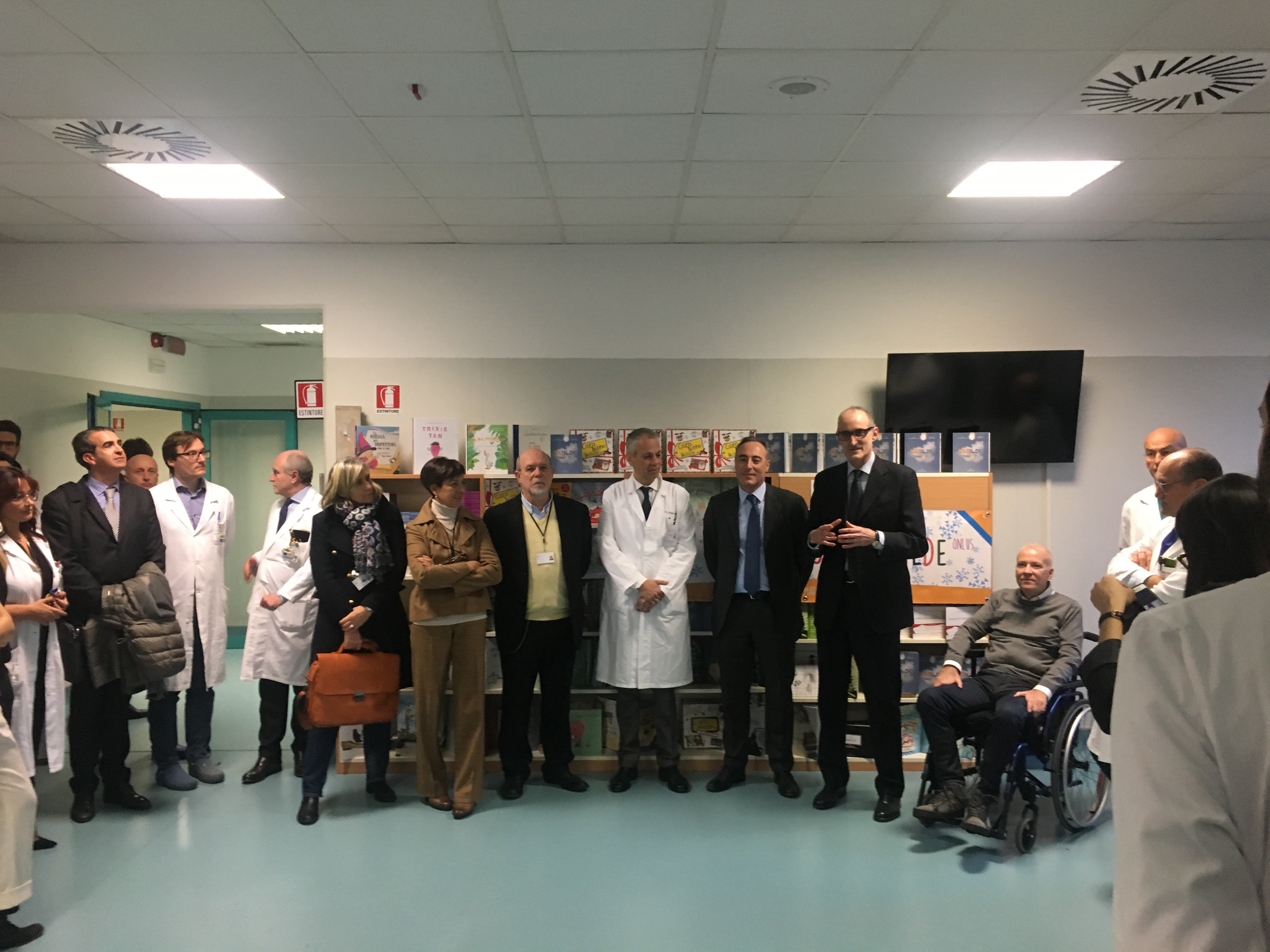 Inaugurato il nuovo reparto pediatrico al Gaetano Pini.
